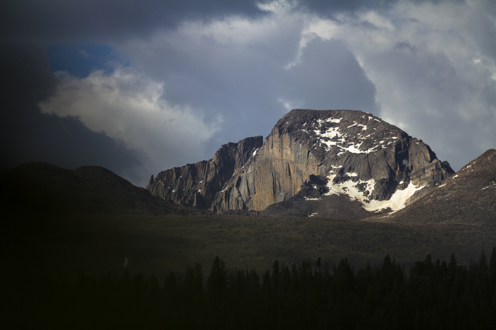Longs Peak, CO. I wanna climb that face!